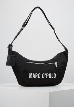 Marc O'Polo - HOBO BAG - Umhängetasche - black