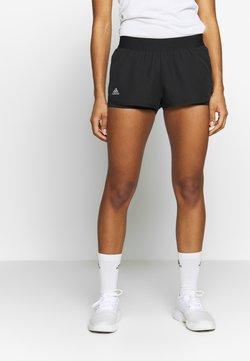 adidas Performance - CLUB SHORT - Träningsshorts - black/silver/white