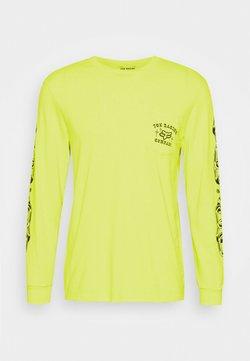 Fox Racing - LA NETA POCKET TEE  - Maglietta a manica lunga - yellow