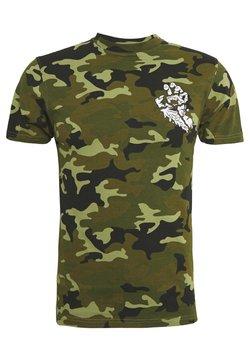 Santa Cruz - UNISEX UNIVERSAL HAND - T-shirt imprimé - woodland
