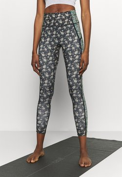 Free People - PRINTED YOURE A PEACH - Medias - black