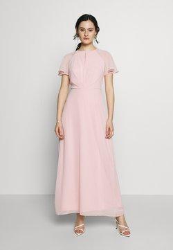 Dorothy Perkins - BLUSH PLEAT FRONT KEYHOLE MAXI DRESS - Vestido de fiesta - pink