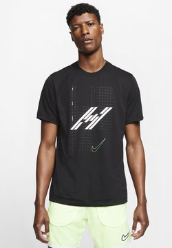 Nike Performance - T-shirt con stampa - black