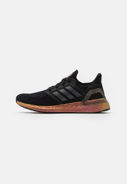 adidas Performance - ULTRABOOST 20 PRIMEBLUE PRIMEKNIT RUNNING SHOES - Zapatillas de running neutras - core black/grey five/signal pink