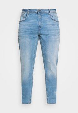 Blend - JET FIT SCRATCHES - Jean slim - denim light blue