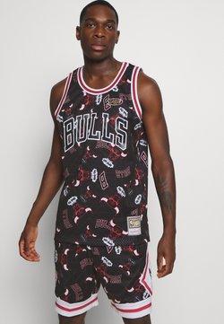 Mitchell & Ness - NBA CHICAGO BULLS TEAR UP PACK SWINGMAN - Vereinsmannschaften - black