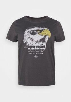 Lee Plus - SUMMER TEE - T-shirt imprimé - washed black