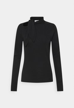 BLANCHE - CARISI TIE BLOUSE - Longsleeve - black