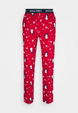 Jack & Jones - JACX-MAX LOUNGE PANT - Bas de pyjama - chili pepper