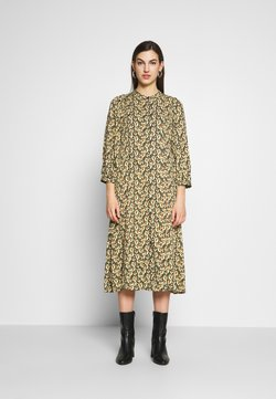 Moss Copenhagen - KAROLA RAYE DRESS - Skjortekjole - black