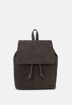 Zign - LEATHER - Tagesrucksack - anthracite