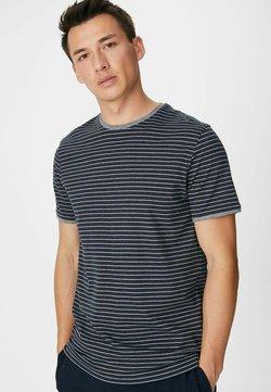 C&A Premium - T-Shirt print - dark blue/white