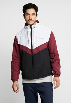 Tommy Jeans - COLORBLOCK - Windbreaker - burgundy