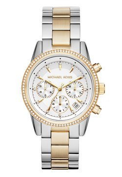 Michael Kors - RITZ - Chronograph - silver-coloured/gold-coloured