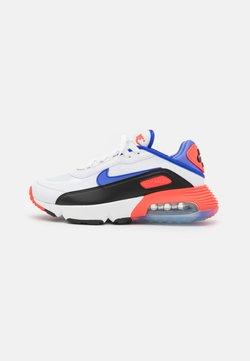 Nike Sportswear - AIR MAX 2090 UNISEX - Sneakersy niskie - summit white/sapphire/black/bright crimson