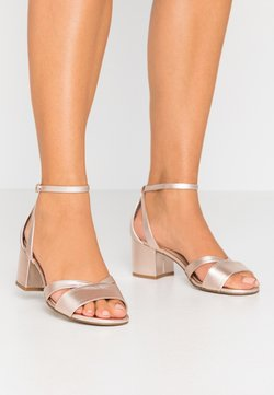 Anna Field Wide Fit - LEATHER - Sandales - rose gold