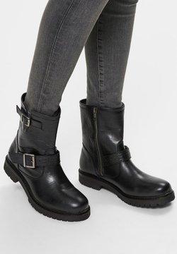 Selected Femme - Cowboy-/Bikerstiefelette - black