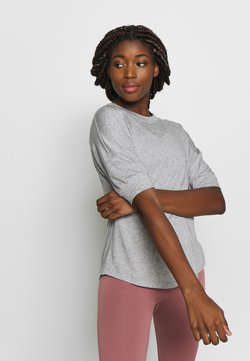 Filippa K - SOFT - Camiseta básica - light grey
