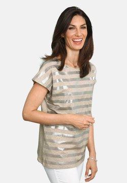 ATELIER GS - T-Shirt print - beige