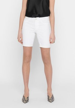 ONLY - Jeansshorts - white
