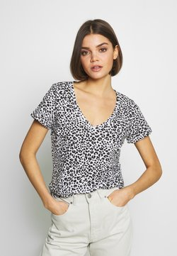 Cotton On - THE DEEP  - T-Shirt basic - washed lilian grey marle