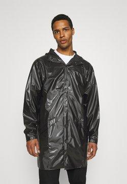 Rains - LONG JACKET UNISEX - Regenjacke / wasserabweisende Jacke - shiny black