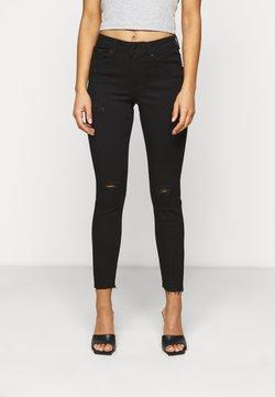 Vero Moda Petite - VMTANYA PIPING - Jeans Skinny Fit - black