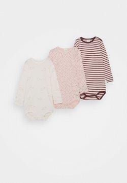 Sanetta - LONGSLEEVE MULTIPACK BABY 3 PACK - Body - rose blush