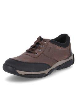 Clarks - GROVE EDGE - Sznurowane obuwie sportowe - braun