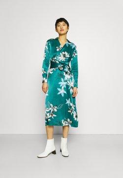 Marks & Spencer London - FLORAL WRAP DRESS - Vestido largo - green
