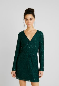Nly by Nelly - SPARKLY DRESS - Juhlamekko - green