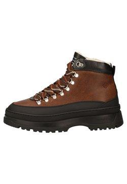 GANT - Ankle Boot - cognac/black