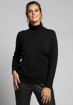 Ulla Popken - Strickpullover - schwarz