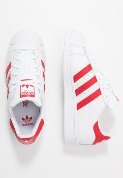 adidas Originals - SUPERSTAR - Sneaker low - footwear white/scarlet