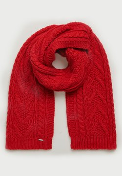 Superdry - LANNAH CABLE  - Schal - rouge red