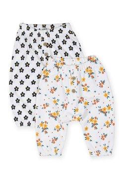 Cigit - 2 PACK - Pantaloni - off-white