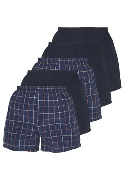 Pier One - 5 PACK - Boxershorts - dark blue