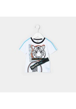 River Island - TIGER  - Camiseta estampada - white
