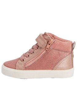 Next - ELASTIC LACE HIGH TOP - Sneaker high - pink