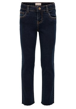 Kids ONLY - STRAIGHT FIT JEANS KONEMILY - Straight leg jeans - medium blue denim