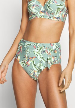 Esprit - PANAMA BEACH HIGH BRIEF - Bikinialaosa - light khaki
