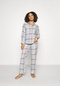 Lauren Ralph Lauren - BRUSHED  - Pyjama - grey