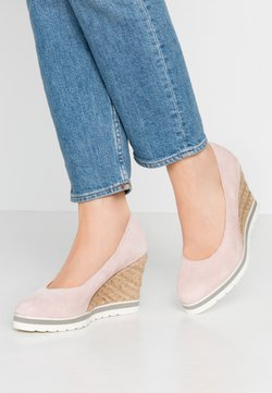 Anna Field - LEATHER HIGH HEELS - High Heel Pumps - pink