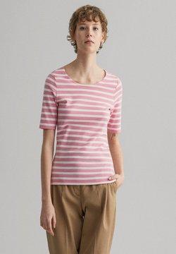 GANT - GANT DAMEN SHIRT KURZARM - T-Shirt print - sea pink