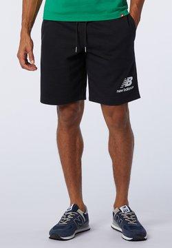 New Balance - ESSENTIALS STACKED  - Shorts - black