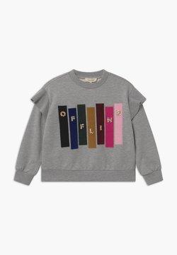 TWINSET - GIROCOLLO STAMPATA - Sweater - mottled grey