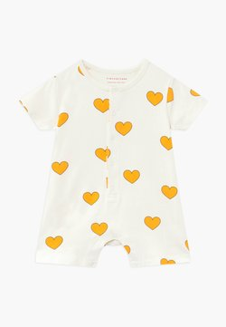 TINYCOTTONS - HEARTS ON PIECE - Combinaison - off-white/yellow