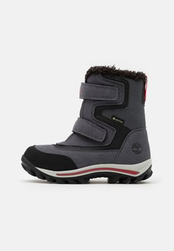 Timberland - CHILLBERG - Bottes de neige - mid grey/red