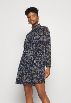 Vero Moda - VMVILDE SHORT DRESS - Freizeitkleid - navy blazer
