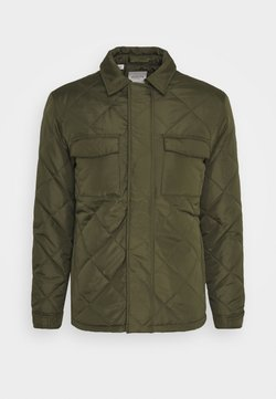 Selected Homme - SLHARVEY QUILTED - Lett jakke - winter moss